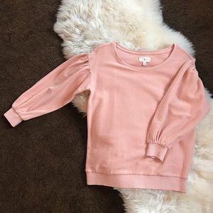 Lou & Grey Pink Sweatshirt Pullover